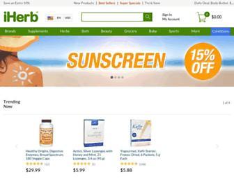 Thumbshot of Iherb.com