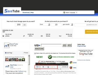 Thumbshot of Savetube.com