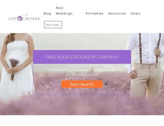 loveandlavender.com screenshot
