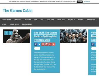 Thumbshot of Thegamescabin.com