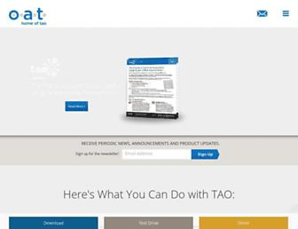 taotesting.com screenshot
