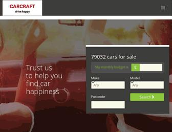 carcraft.co.uk screenshot