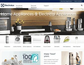 electrolux.com.ph screenshot