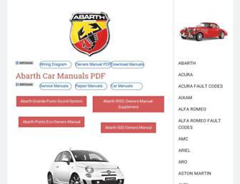 automotive-manuals.net screenshot