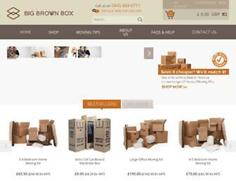 bigbrownbox.co.uk screenshot