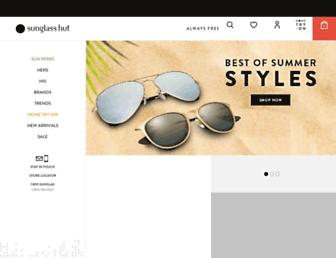 Thumbshot of Sunglasshut.com