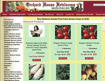 orchardhouseheirlooms.com screenshot
