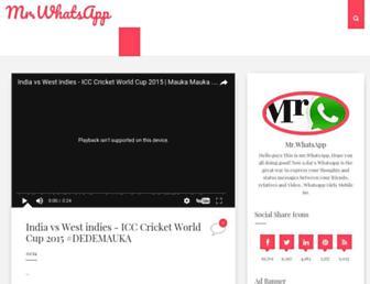 mrwhatsapp.blogspot.com screenshot