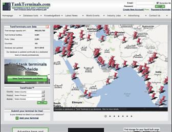 tankterminals.com screenshot