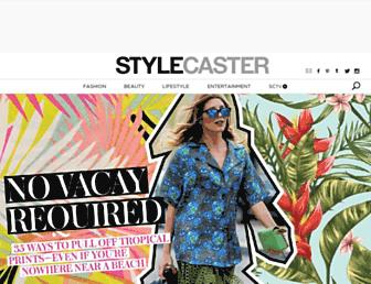 stylecaster.com screenshot