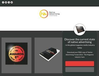 nativeadvertisinginstitute.com screenshot