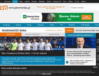 wirtualnemedia.pl screenshot