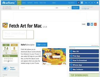 fetch-art.en.softonic.com screenshot