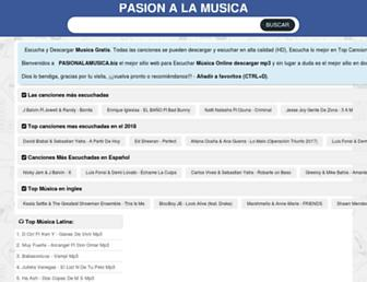 pasionalamusica.biz screenshot