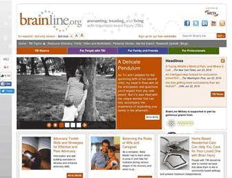 brainline.org screenshot