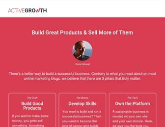 activegrowth.com screenshot