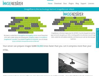 Fullscreen thumbnail of imageresizing.net