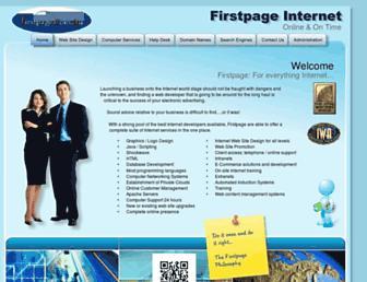 firstpage.com.au screenshot