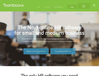 Thumbshot of Bamboohr.com