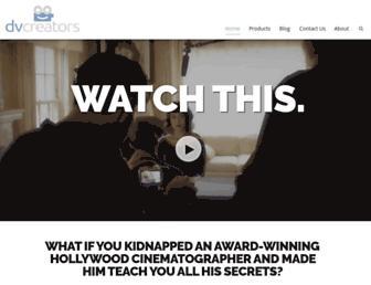 dvcreators.net screenshot