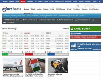 finans.mynet.com screenshot