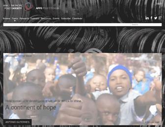 policyforum.net screenshot