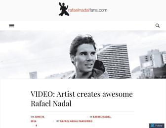 rafaelnadalfans.com screenshot