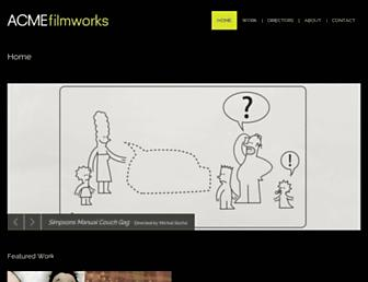 acmefilmworks.com screenshot