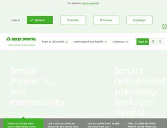 deltadentalwa.com screenshot
