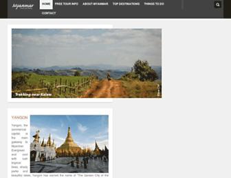 myanmartravelinformation.com screenshot