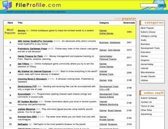 fileprofile.com screenshot
