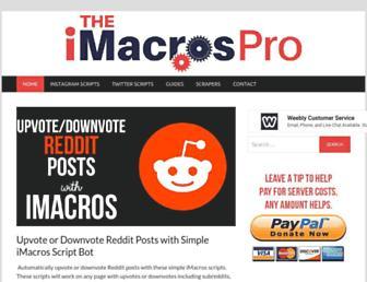 theimacrospro.com screenshot