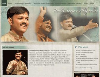 sanjeevabhyankar.com screenshot