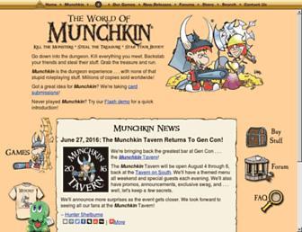 Thumbshot of Worldofmunchkin.com