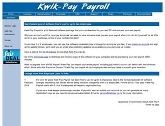kwikpay.co.nz screenshot