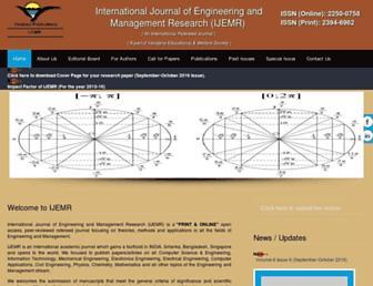 ijemr.net screenshot