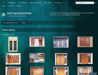 warnapropertindo.wordpress.com screenshot