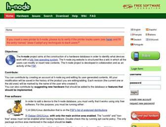 h-node.org screenshot