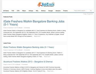 jobtrails.com screenshot