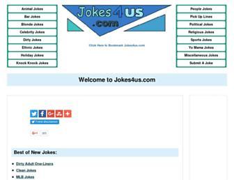 Thumbshot of Jokes4us.com