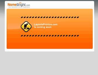 layoutsprontos.com screenshot