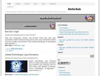 beritaiklanterbaru.blogspot.com screenshot