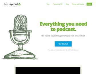 buzzsprout.com screenshot