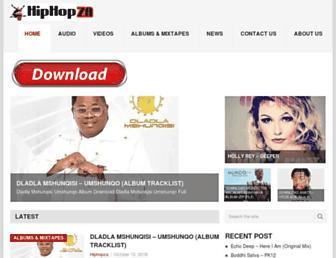 hiphopza.com screenshot