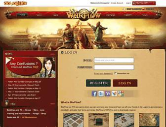 warflow.dovogame.com screenshot