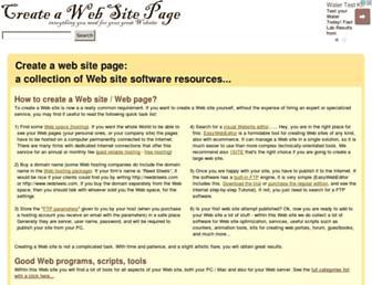 create-a-web-site-page.com screenshot