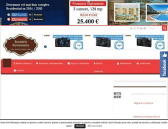bucataria-romaneasca.ro screenshot