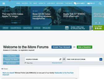 forums.imore.com screenshot
