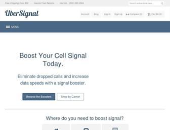ubersignal.com screenshot