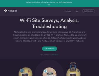 netspotapp.com screenshot